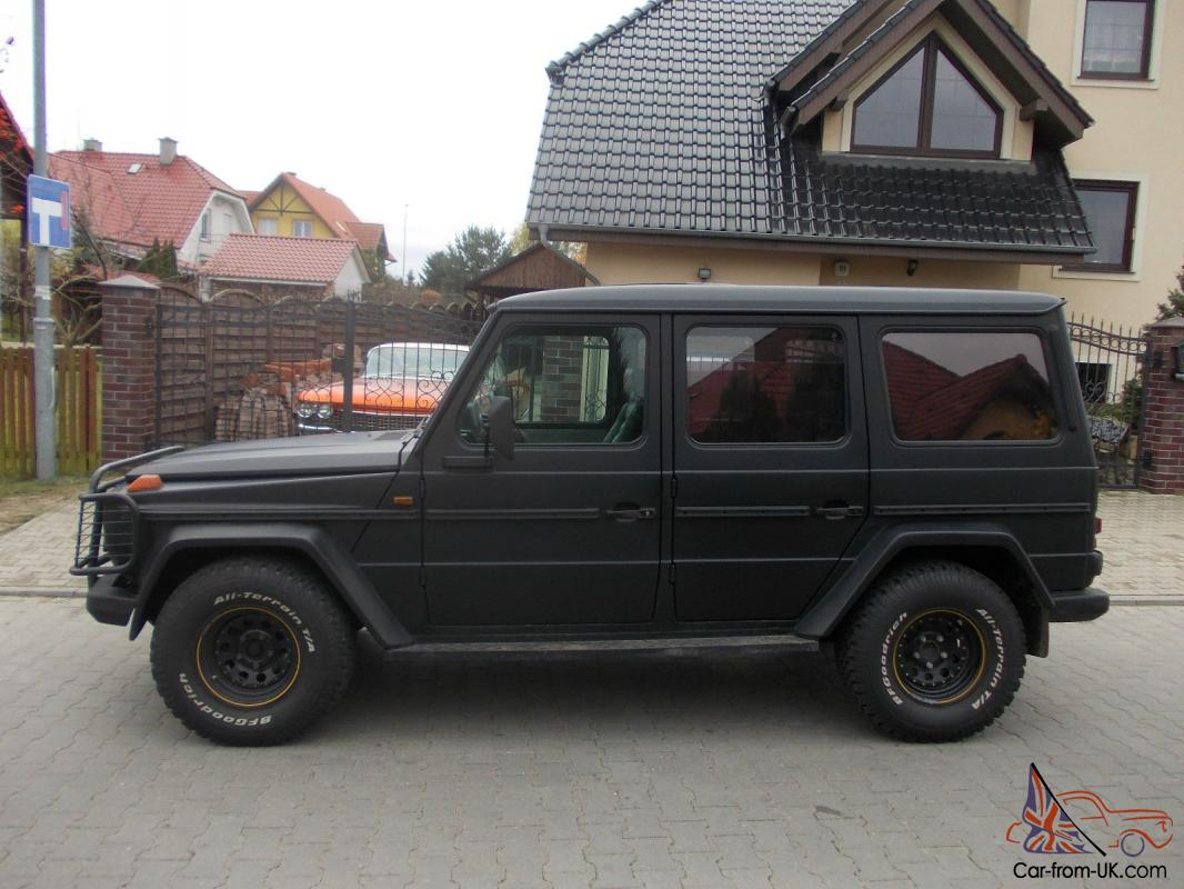 Used Cars For Sale Germany Military: Mercedes-Benz G-Class 3,0L Diesel, German Military 5 Doors