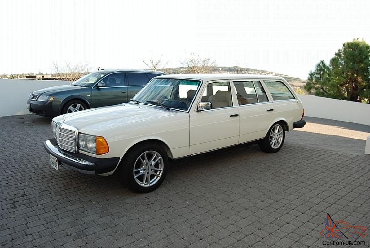 1980 mercedes benz 300td wagon gm 5 7 custom conversion for Custom mercedes benz for sale