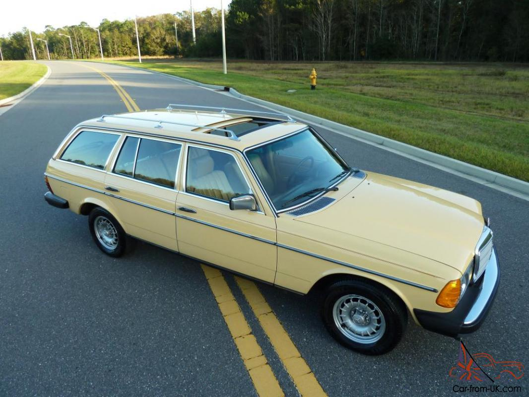 1981 mercedes 300tdt station wagon turbo diesel w123 one owner we export. Black Bedroom Furniture Sets. Home Design Ideas