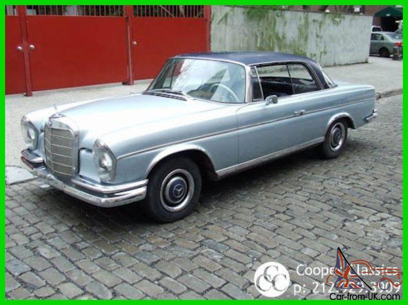 1965 mercedes benz 300se coupe for Mercedes benz 300se for sale