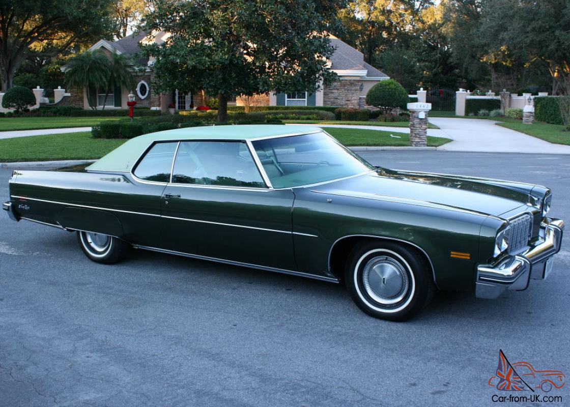 MINT TWO OWNER TOP OF THE LINE-1974 Oldsmobile 98 LS Coupe ...