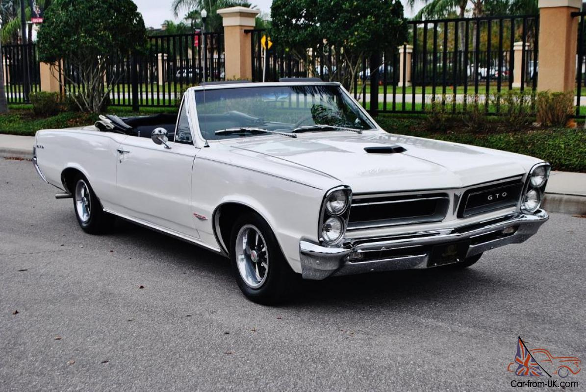 1965 pontiac gto convertible. Black Bedroom Furniture Sets. Home Design Ideas