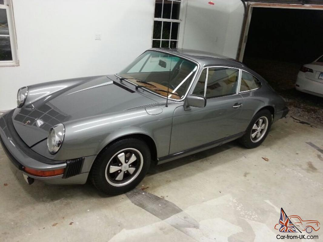 Porsche 911s Sunroof Coupe