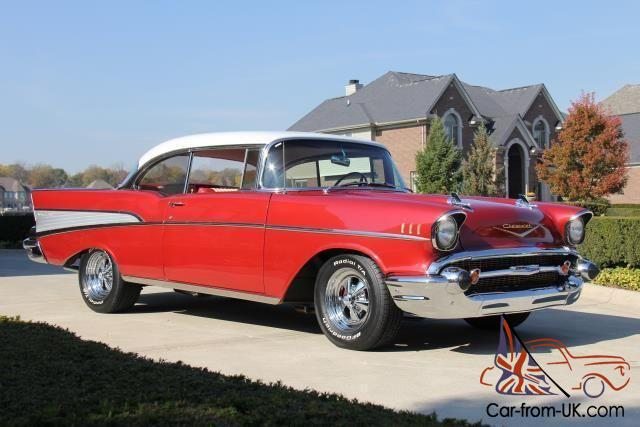 57 2 door htp chevy bel air frame off restored 4 speed. Black Bedroom Furniture Sets. Home Design Ideas