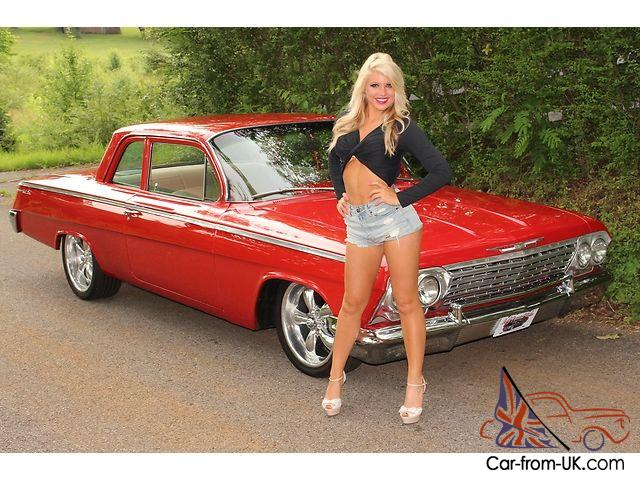 1954 Chevy Truck For Sale Ebay 1962 Chevy Bel Air PB Air Ride Leather Seats Custom ...