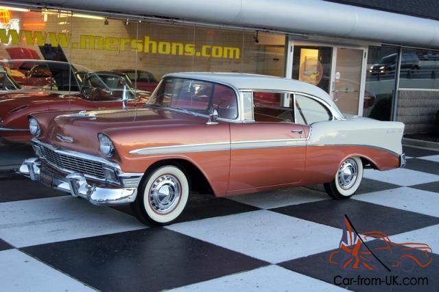 56 Chevy Bel Air Great Colors Free Usa Shipping