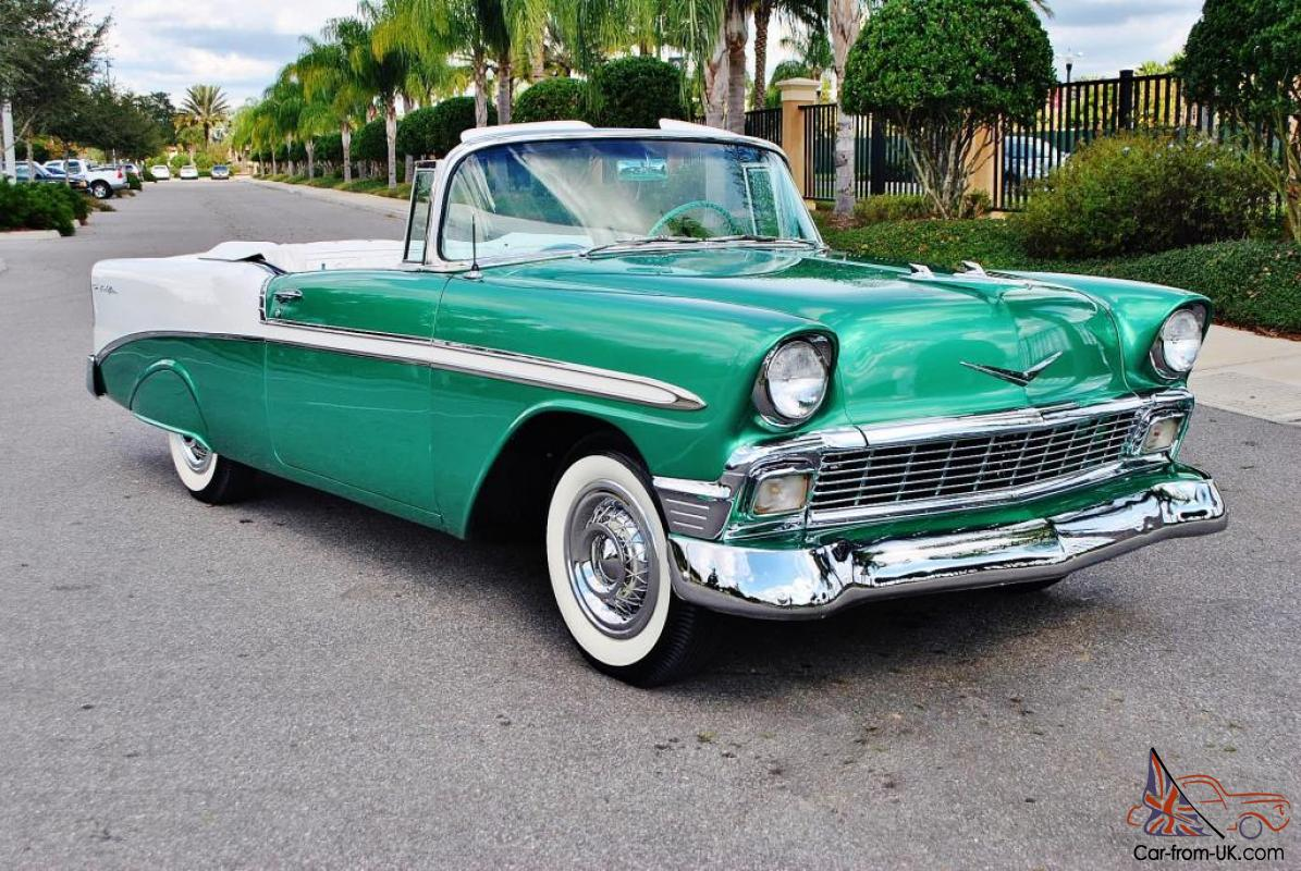 1956 chevrolet bel air convertible for sale - Award Winner Evry Nut Bolt Frame Off 1956 Chevrolet Bel Air Convertible 350 Auto