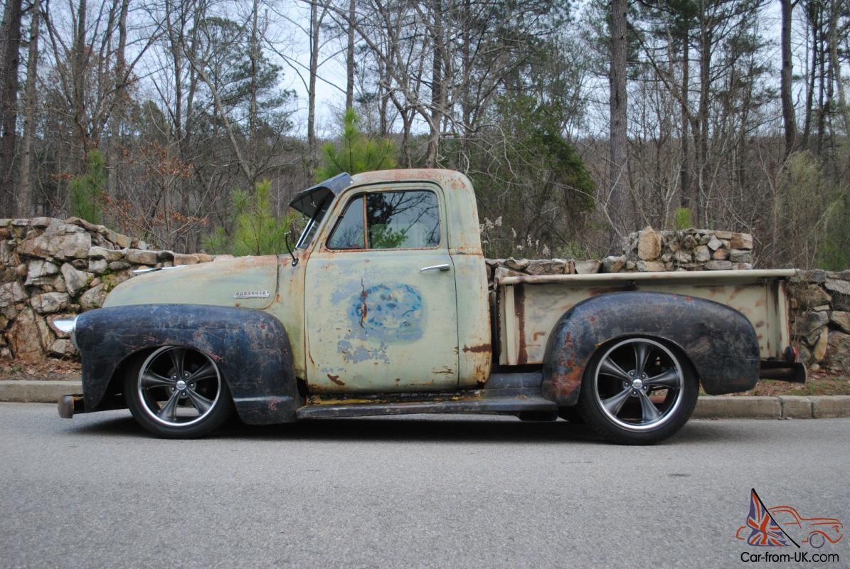 1951 Chevy Truck, No Reserve, Rat Rod, Patina, 3100, Hot Rod, C10, F100