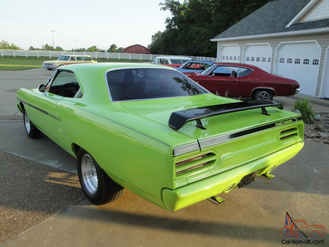 1970 plymouth road runner coupe hot rod 4 speed. Black Bedroom Furniture Sets. Home Design Ideas