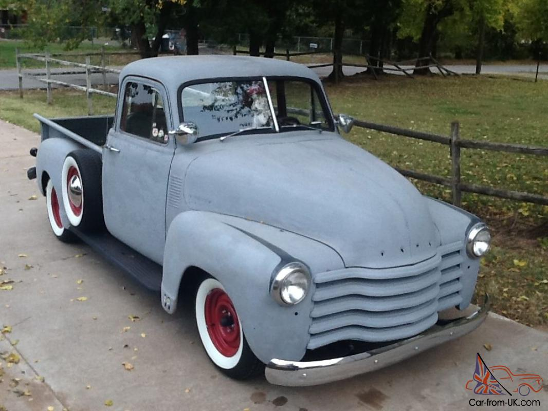 1953 chevy 5 window pickup for 1953 5 window