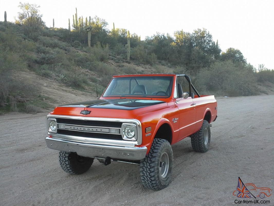 1970 chevy k5 blazer 4x4 covette powered fuel injected for sale