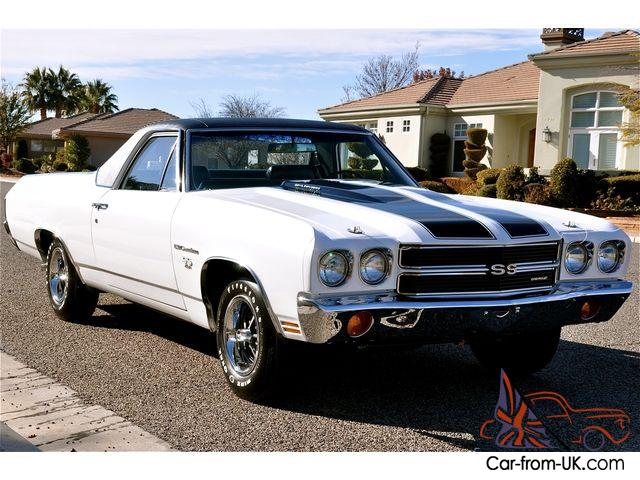 1970 chevrolet el camino ss 454 ls6 4 speed all 39 s match best in the world. Black Bedroom Furniture Sets. Home Design Ideas