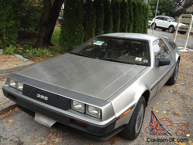 1981 delorean stainless steel time machine mint museum auto must see original. Black Bedroom Furniture Sets. Home Design Ideas