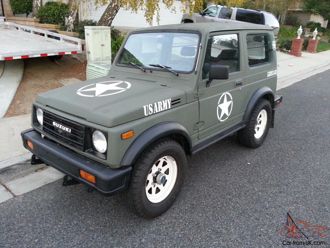 suzuki samurai 4x4 ebay autos post. Black Bedroom Furniture Sets. Home Design Ideas