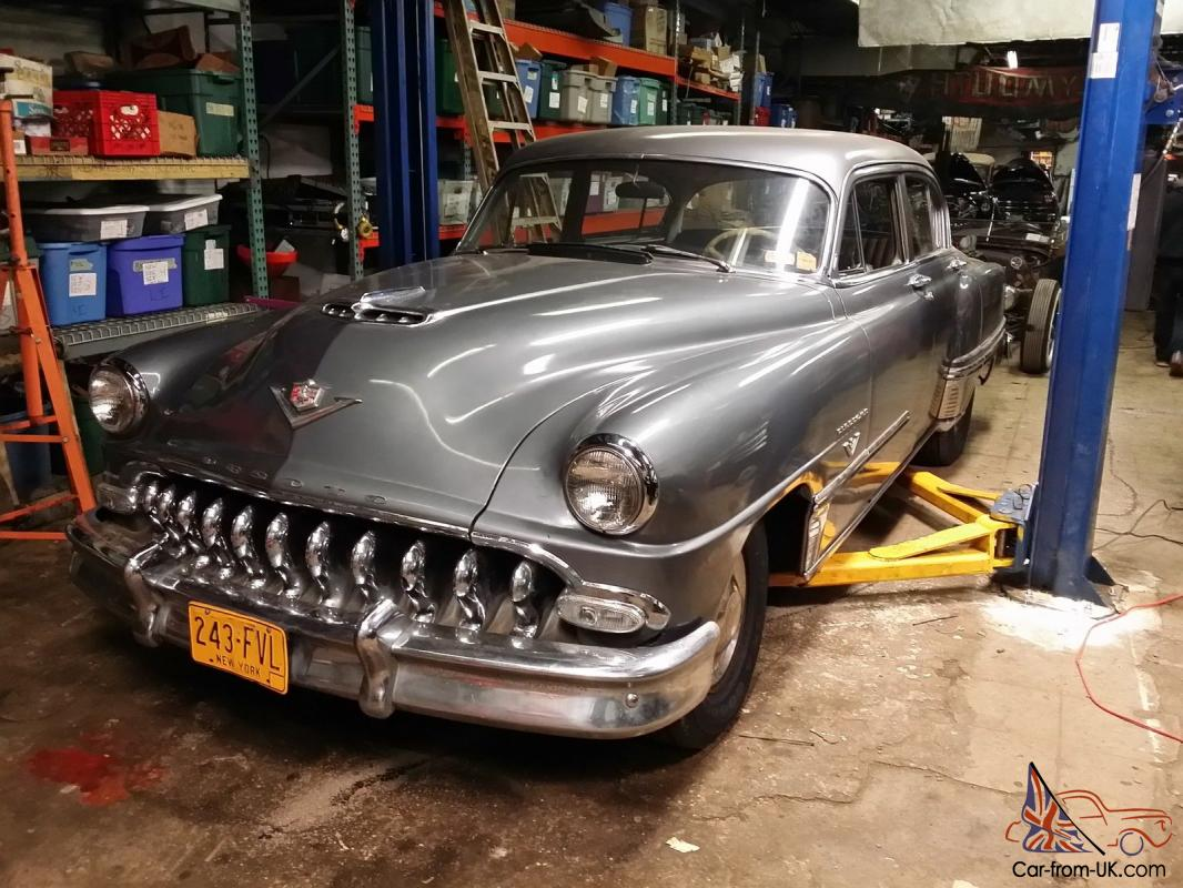 1953 DESOTO FIREOME HEMI 8 CYLINDER BARN FIND HOT ROD MERCURY GRILL ...