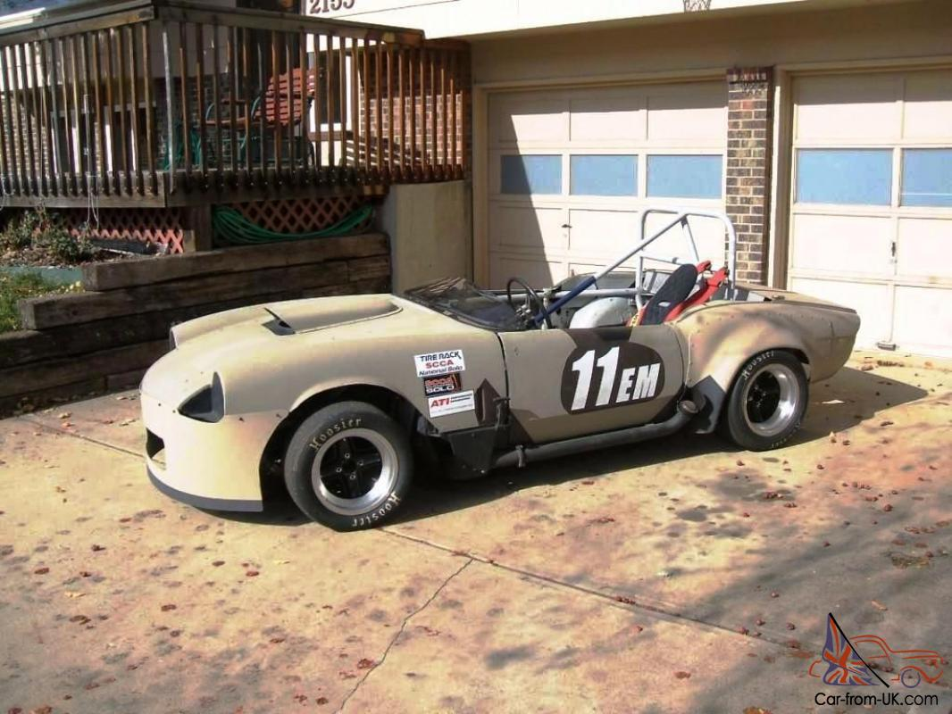 Triumph Spitfire/GT6 Autocross Race car: