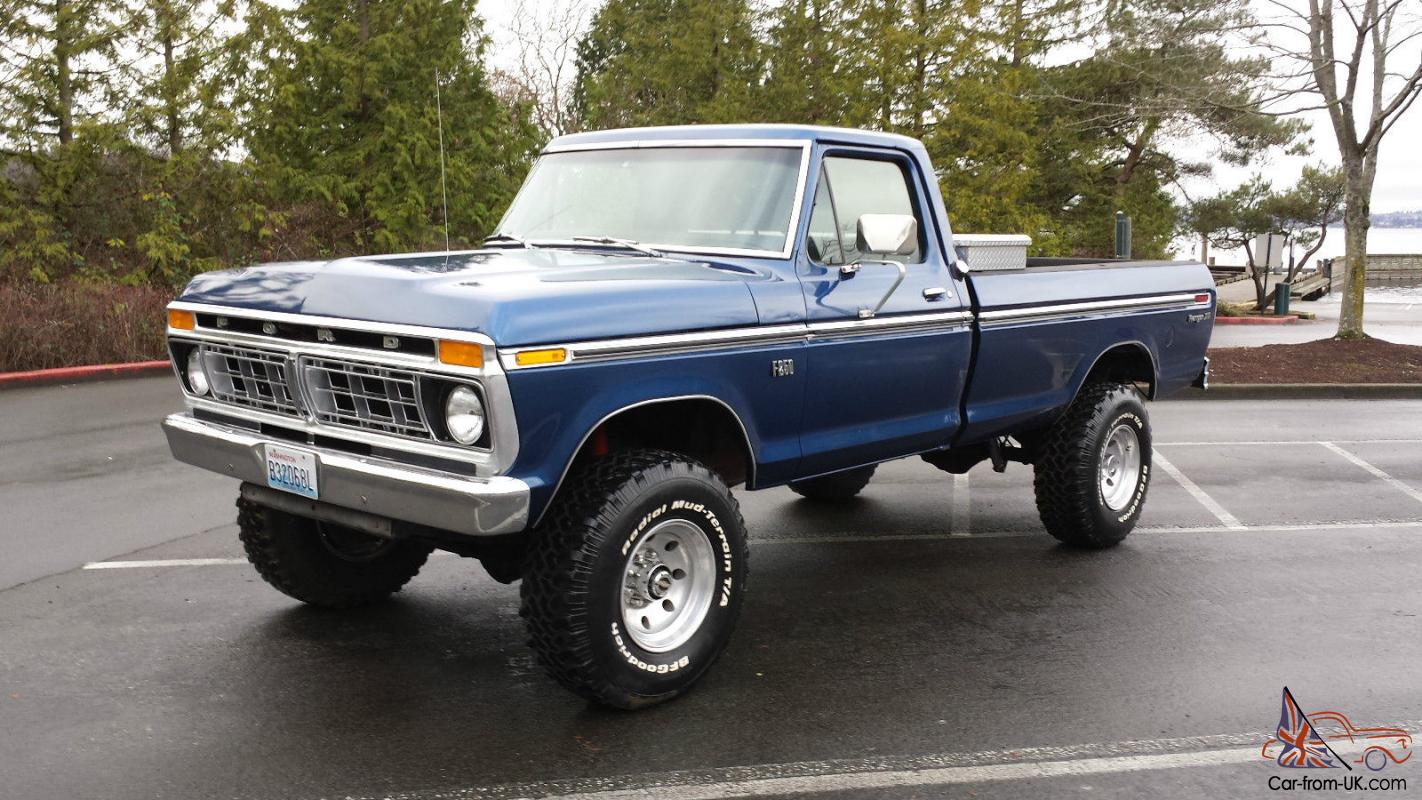 1975 Ford F250 4x4 Highboy 460v8