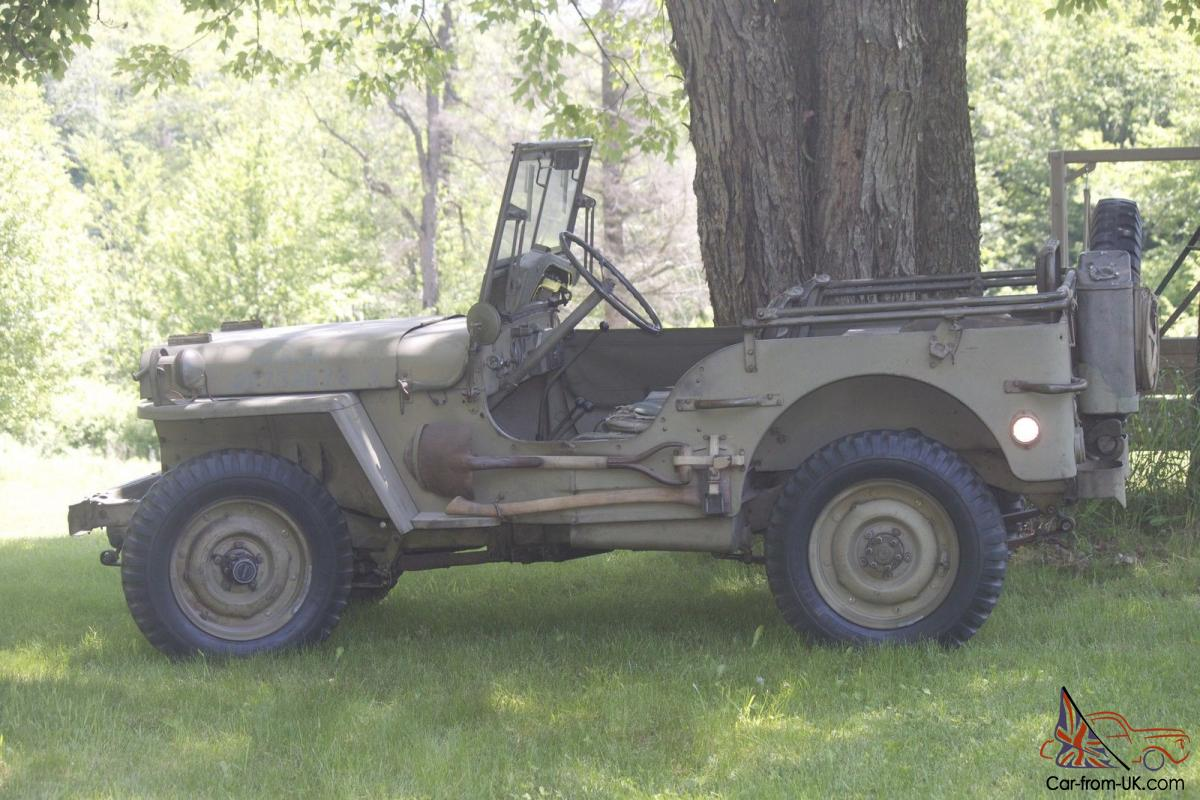 Jeep mb jeep : unrestored GPW / Willys MB Jeep / WWII / mMilitary jeep