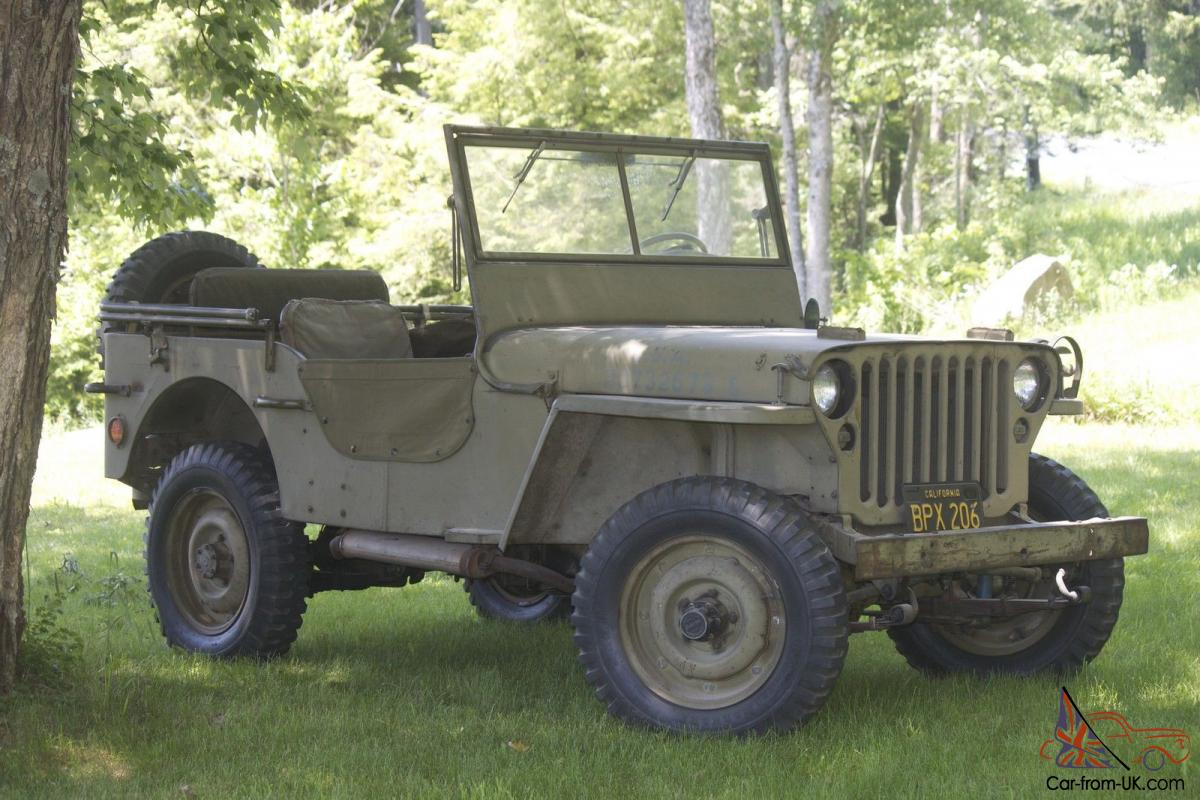 1945 unrestored gpw willys mb jeep wwii mmilitary jeep. Black Bedroom Furniture Sets. Home Design Ideas