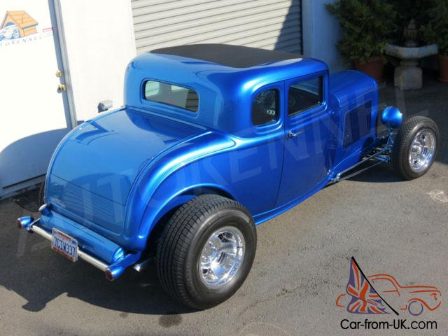 1932 ford hiboy 5 window built by bobby alloway street. Black Bedroom Furniture Sets. Home Design Ideas