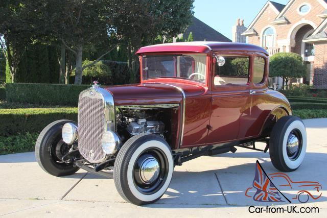 1931 ford street rod 5 window coupe steel top notch for 1931 ford 5 window coupe hot rod
