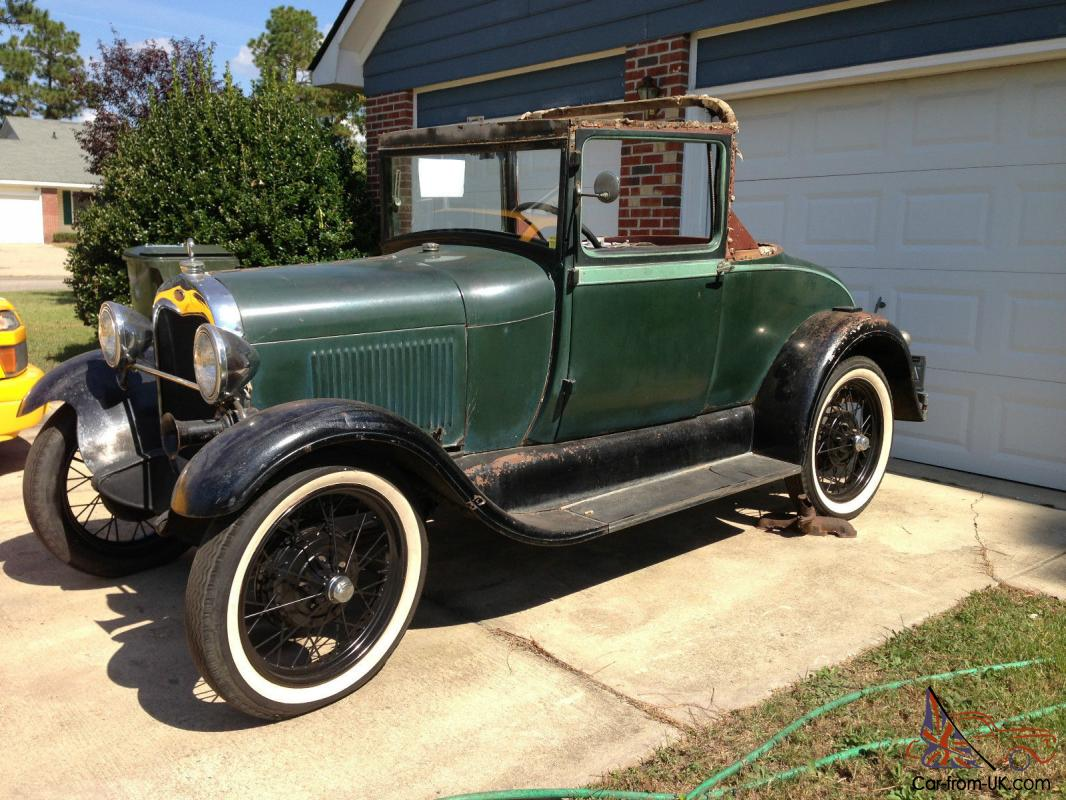1929 ford model a sport coupe hotrod hotrod project traditional