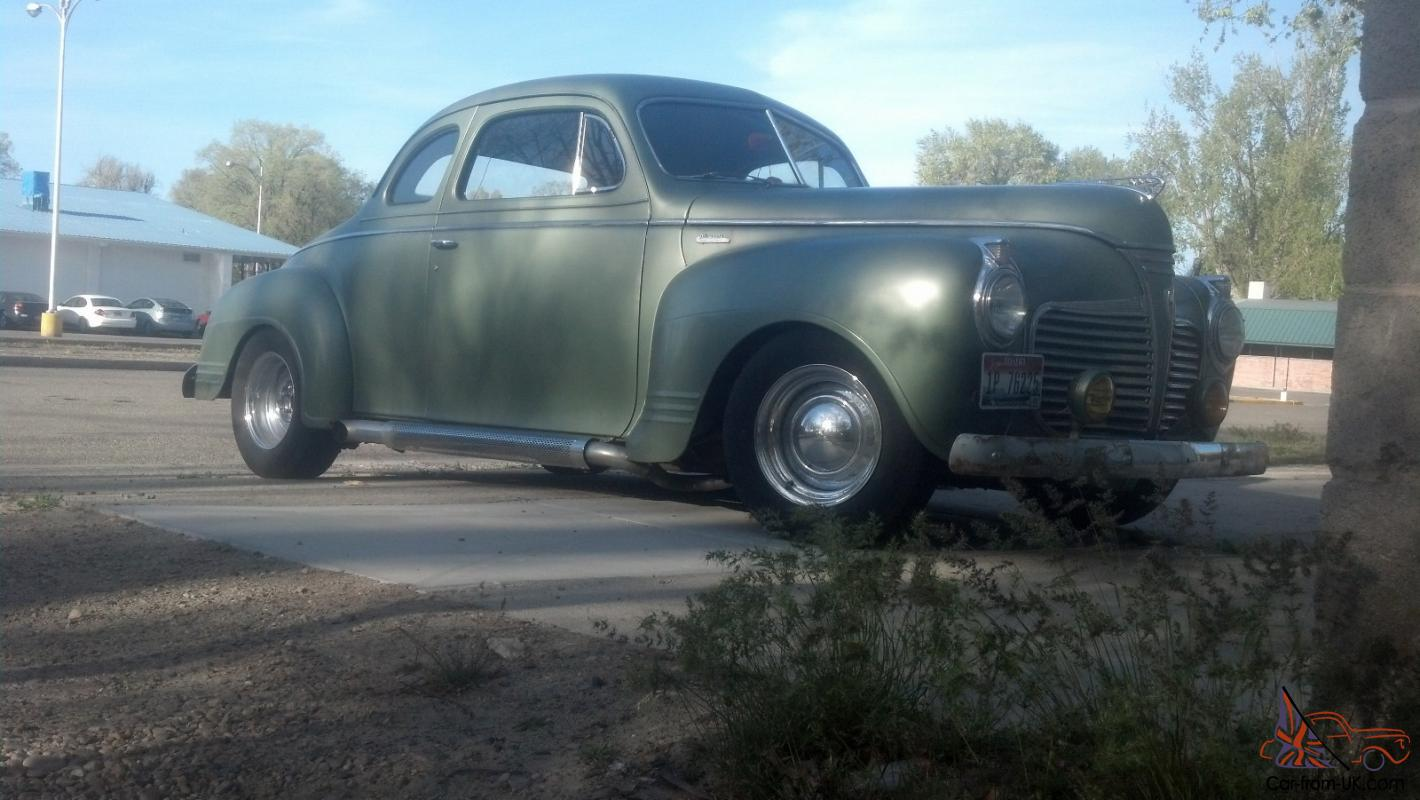 1941 Plymouth Business Coupe Hot Rod Rat Street Kustom Car Cars For Sale