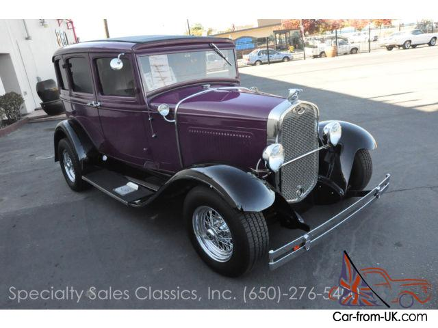 This 1931 ford model a four door sedan stock 30855 for 1931 ford model a 4 door for sale