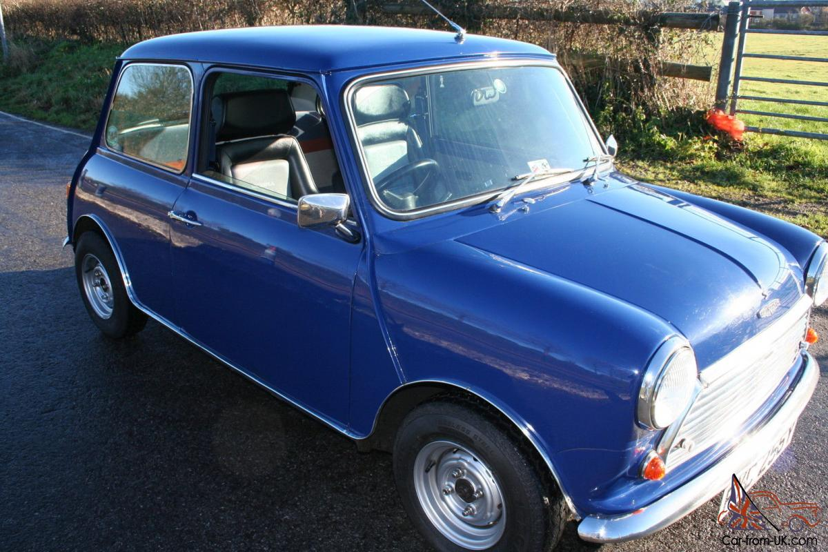 1982 classic austin mini 1000 city exceptional car early cooper look a like. Black Bedroom Furniture Sets. Home Design Ideas