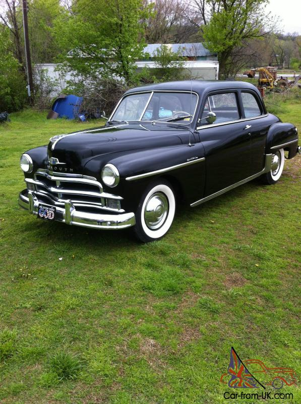 1950 plymouth 2 door sedan special deluxe 1946 Plymouth 4Dr Sedan