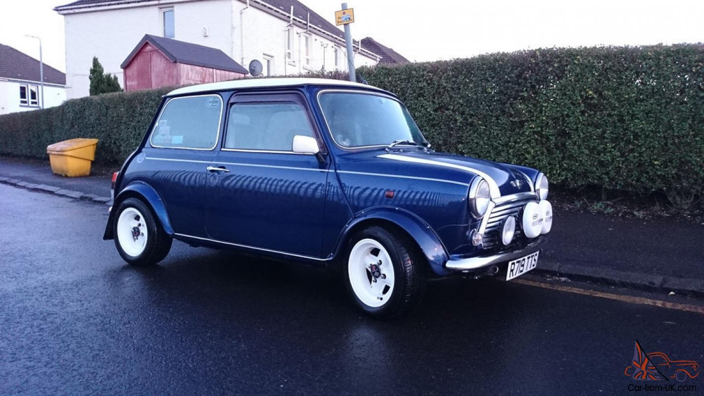 1997 Rover Mini Cooper Tahiti Blue Japanese Import