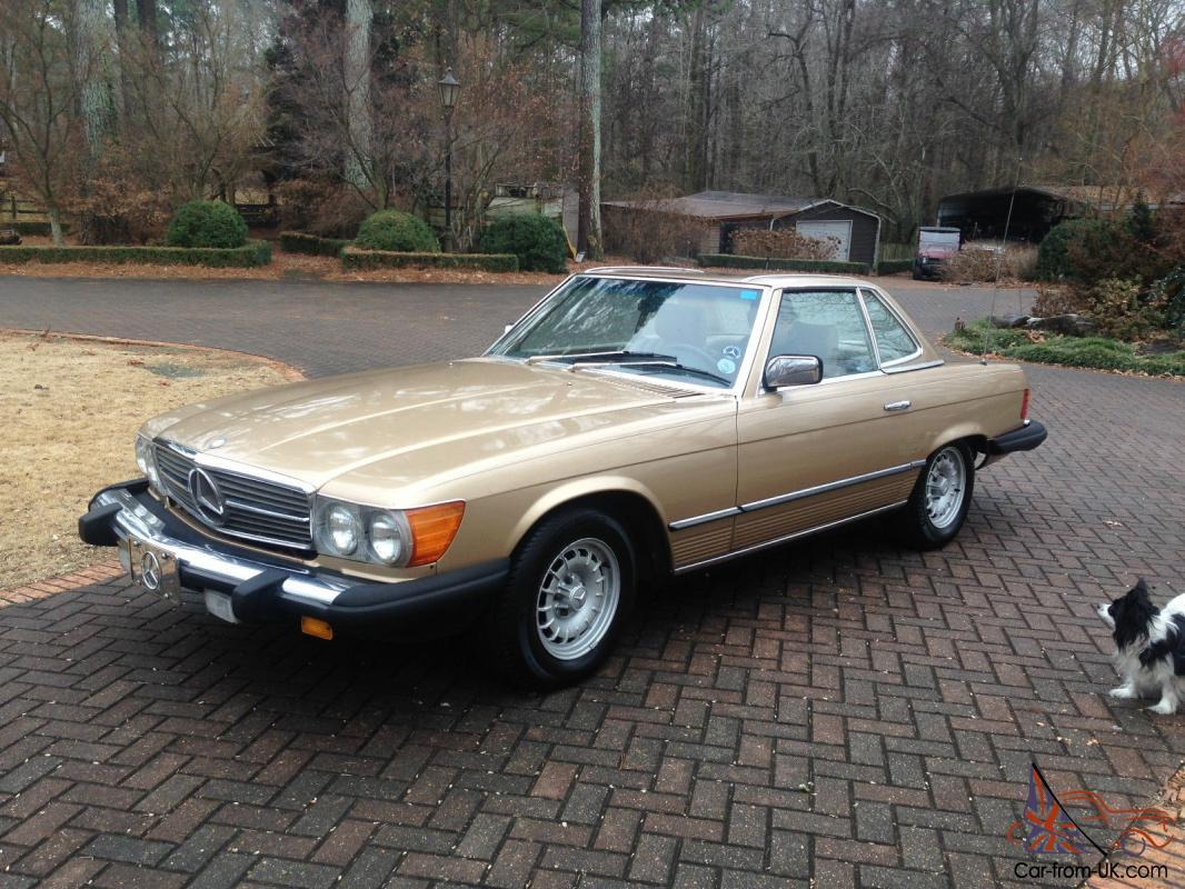 1985 mercedes benz 380sl convertible 56 782 miles