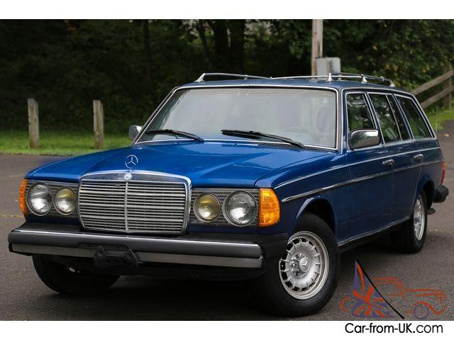 1984 mercedes benz 300tdt 300td wagon 300 turbo diesel l6 3 0l rare clean carfax. Black Bedroom Furniture Sets. Home Design Ideas