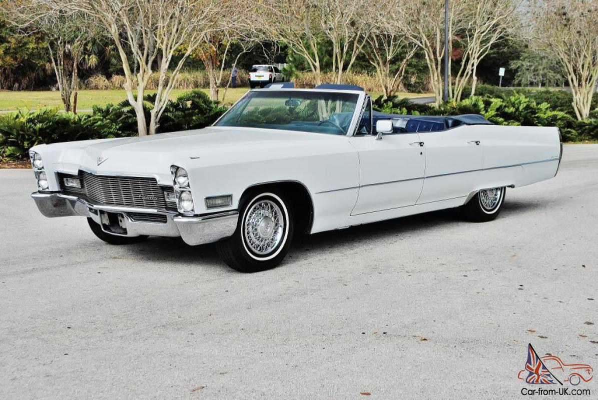 the rarest 68 cadillac 4 door deville convertible you will. Black Bedroom Furniture Sets. Home Design Ideas