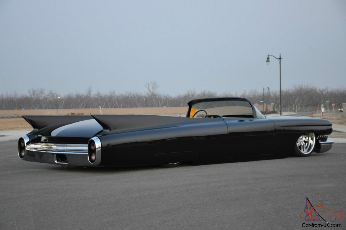 Custom 1960 Cadillac Deville 1959 1960 Rat Rod Airride Gm