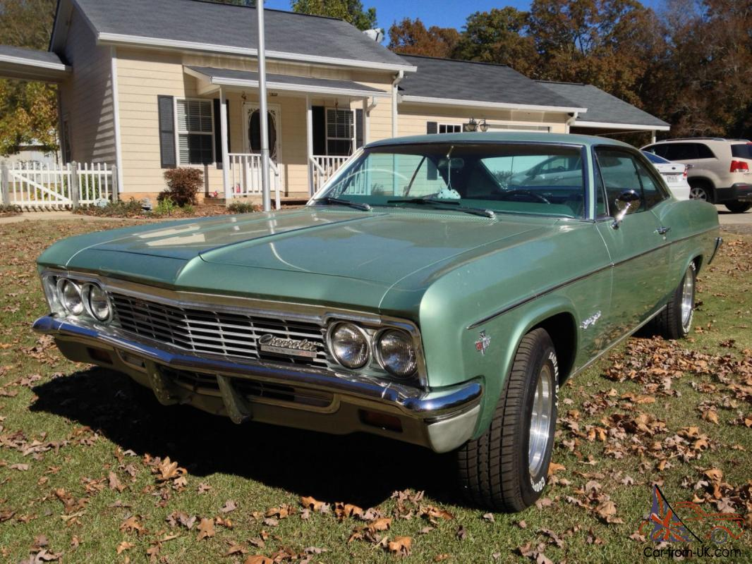 1966 chevy impala ss willow green. Black Bedroom Furniture Sets. Home Design Ideas