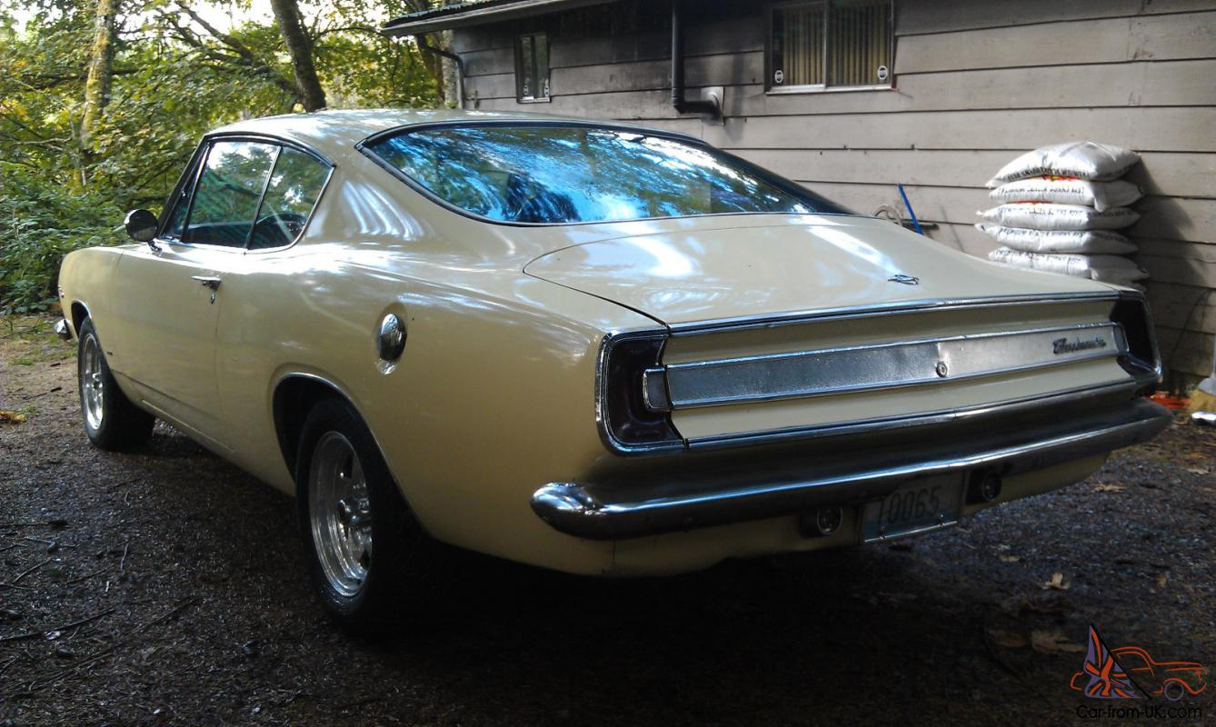 1967 plymouth barracuda fastback for sale
