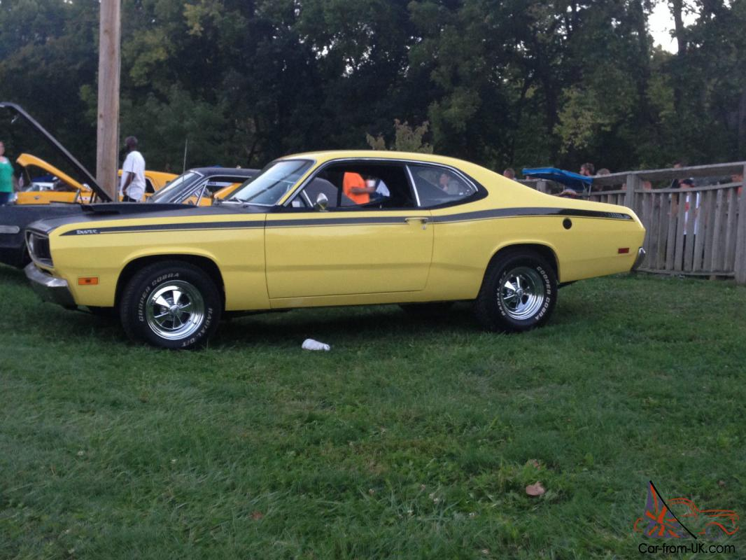 1971 plymouth duster mopar muscle. Black Bedroom Furniture Sets. Home Design Ideas