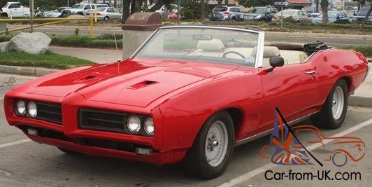 1969 Lemans Convertible W Overdrive Every Day Driver Gto Clone