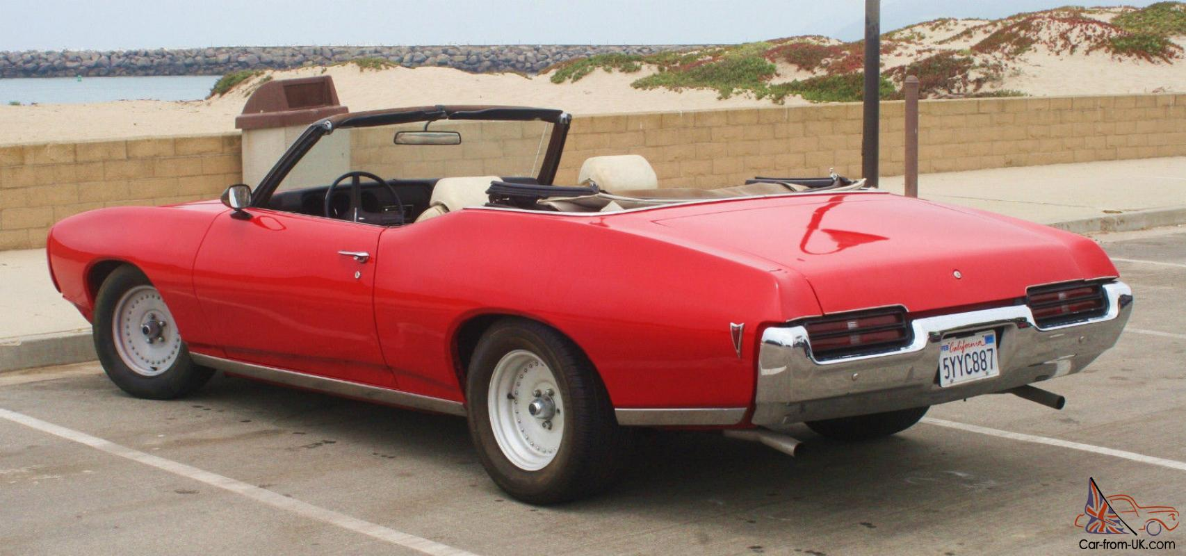 1969 lemans convertible w overdrive every day driver gto Les convertibles