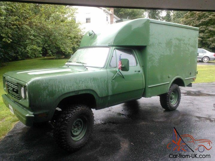 Sale on 1977 dodge power wagon truck