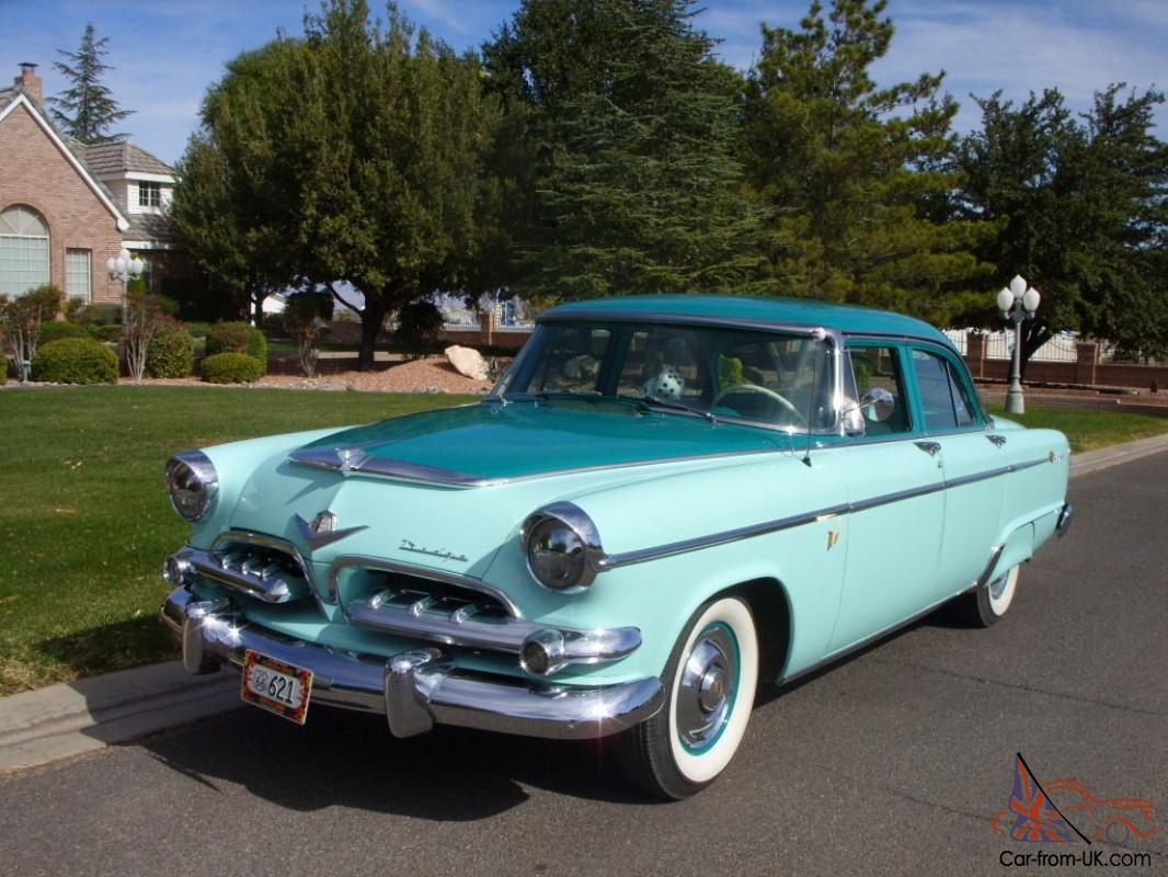 Restored 1955 dodge royal custom 4 door sedan for 1956 dodge custom royal 4 door