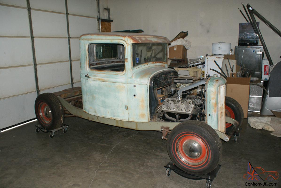 1932 Ford pickup project nearly complete all the best parts Flathead ...