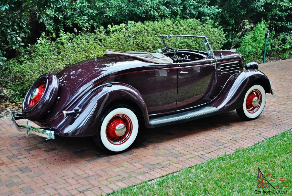 Frame Off Restored 1935 Ford Roadster Convertible best in country over ...