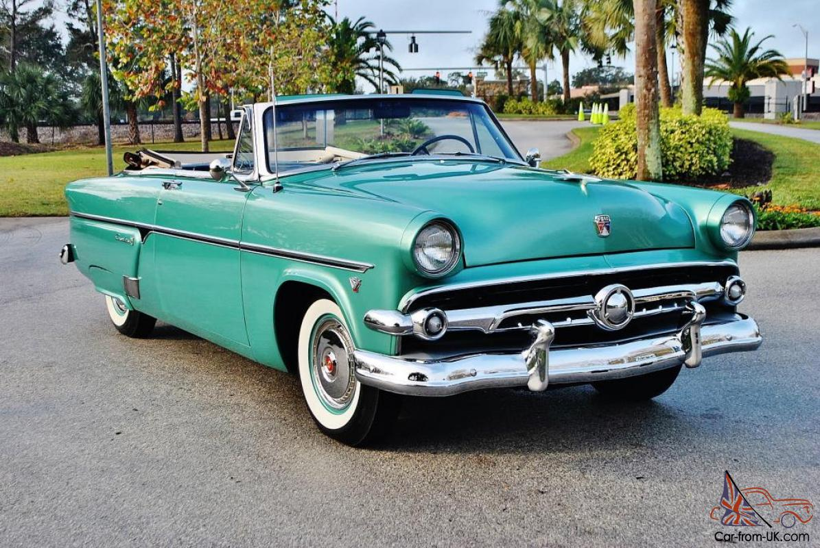 1954 Ford Crestline Sunliner Convertible That Is Nothing