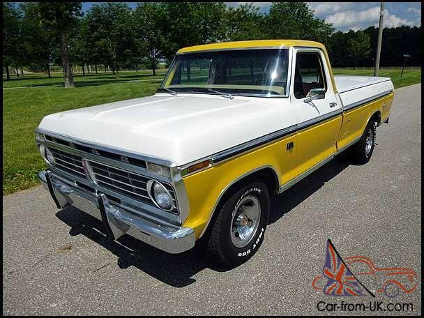 1974 Ford F-100 Ranger XLT for sale on BaT Auctions - sold ...  |1974 Ford F100
