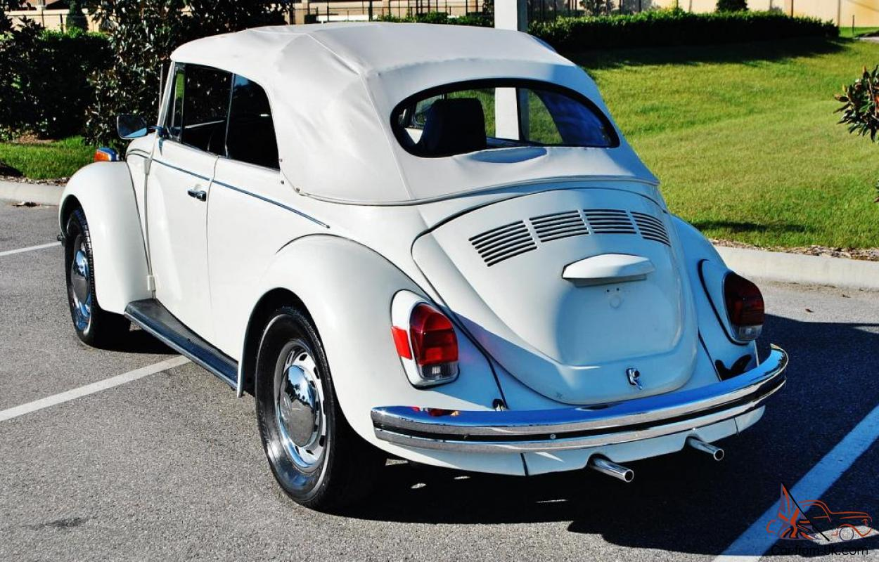 No reserve Really rare semi automatic 71 Volkswagen Beetle Convertible restored