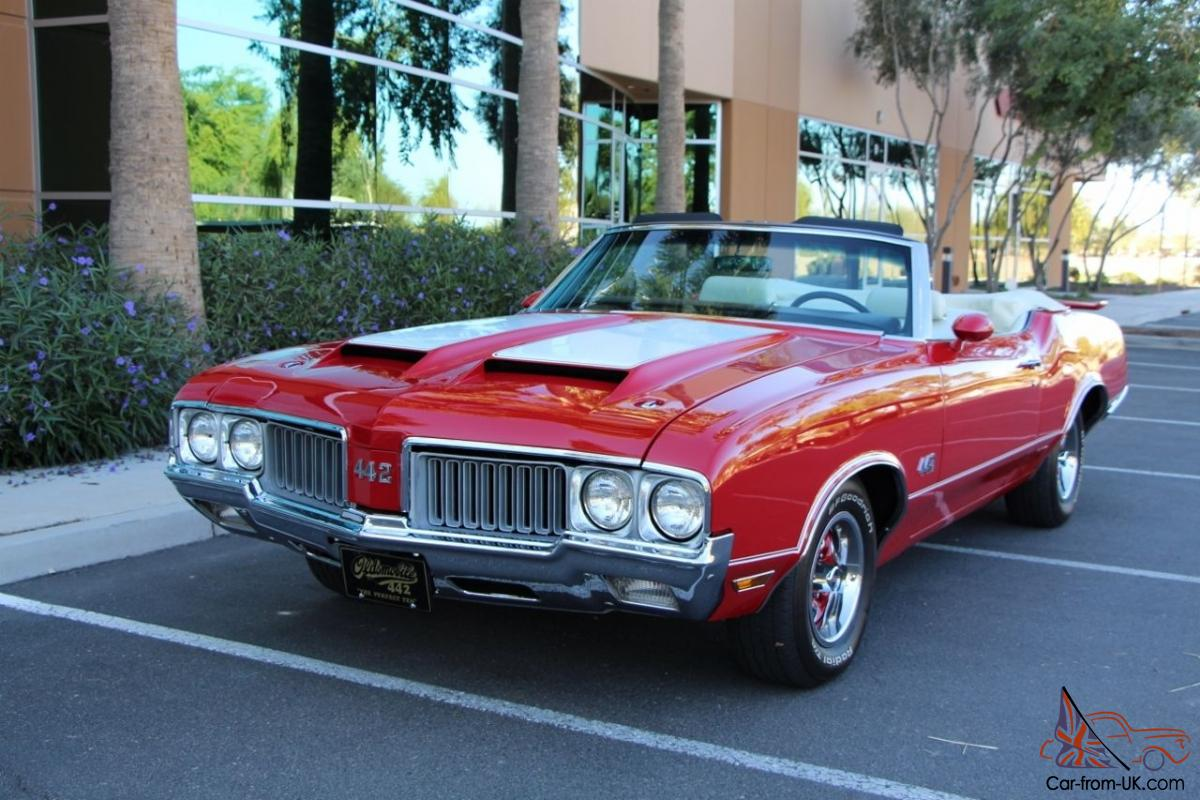 1970 Oldsmobile Olds 442 Convertible Restored Show Quality