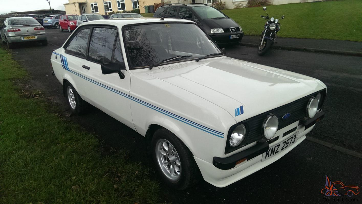 1976 Ford Escort Mk2 2 Door Harrier Replica