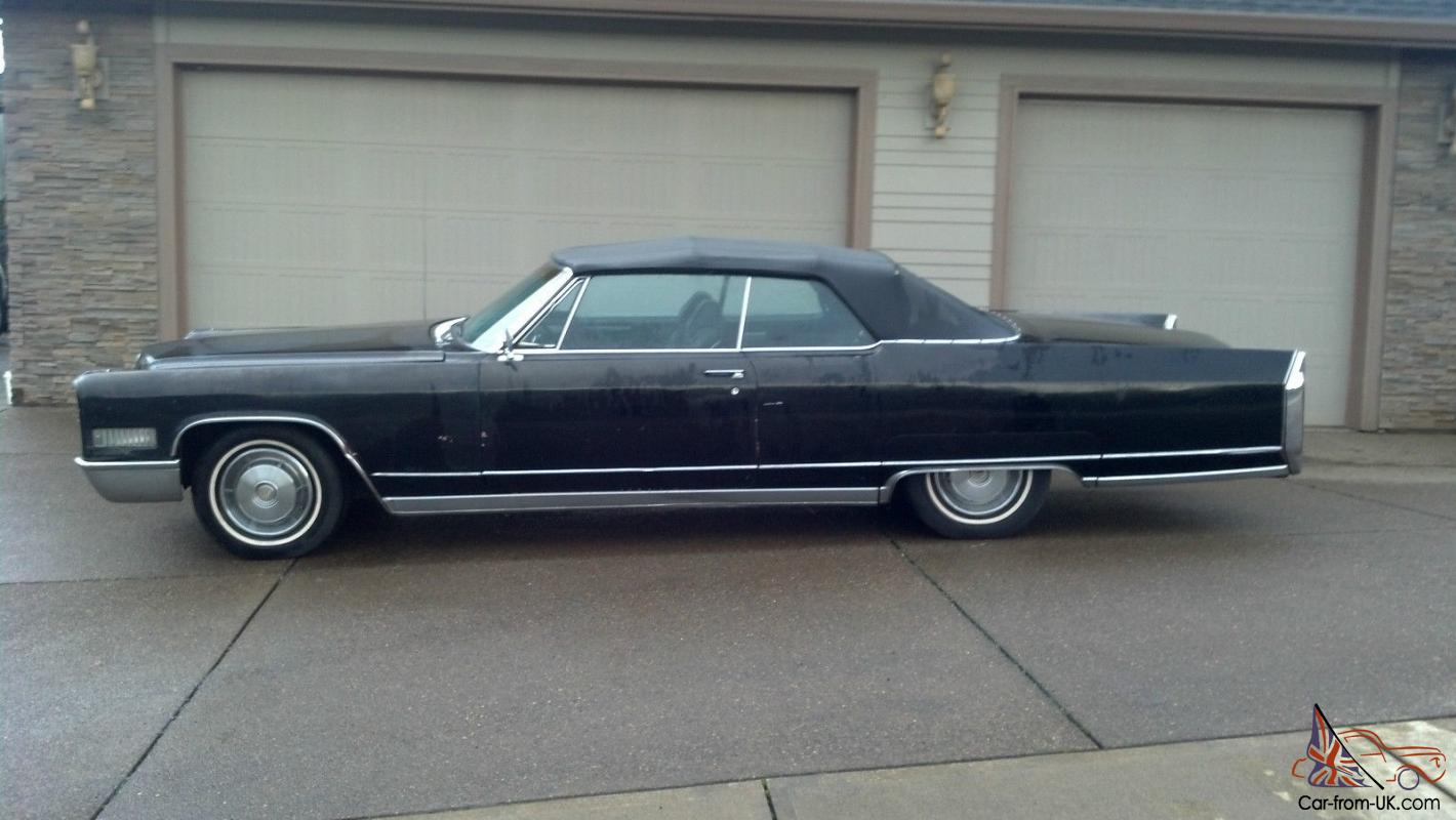 1966 cadillac eldorado convertible 2 door for sale
